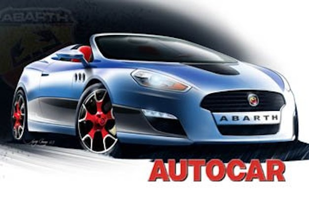 Fiat Abarth Roadster Rendering