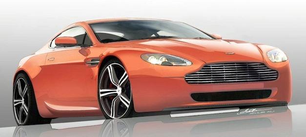Aston Martin DB9 LM