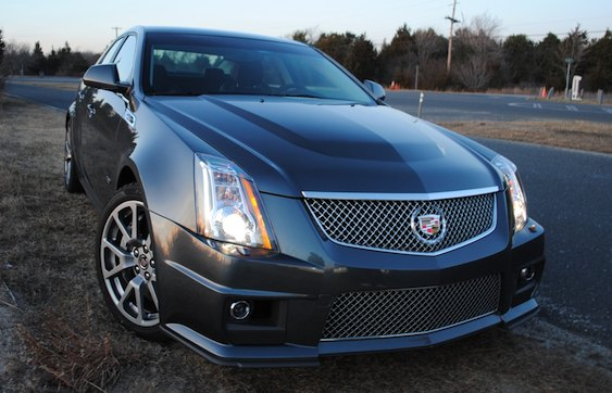 review 2010 cadillac cts v shows germany that detroit can. Black Bedroom Furniture Sets. Home Design Ideas