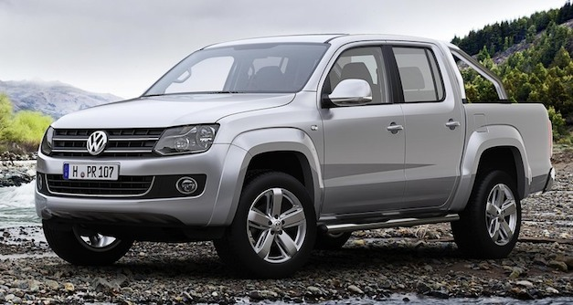 once again volkswagen amarok pickup not coming to the united states egmcartech. Black Bedroom Furniture Sets. Home Design Ideas