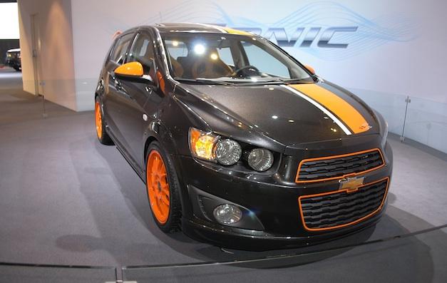 2011 Detroit: Chevrolet Sonic Z-Spec Concept