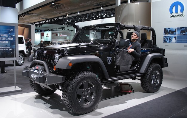 2011 Detroit Jeep Wrangler Call of Duty Edition & 2011 Detroit: Jeep Wrangler Call of Duty Edition shows up in Detroit ...