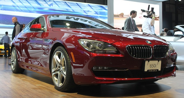 2011 New York: 2012 BMW 6-Series Coupe