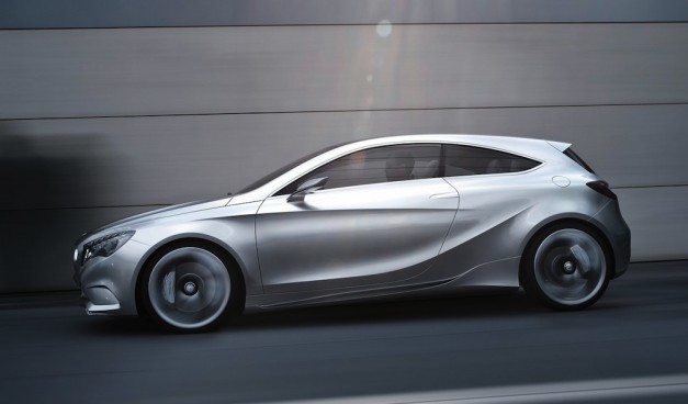 Brand Spankin' New Images: Mercedes-Benz Concept A in all its glory