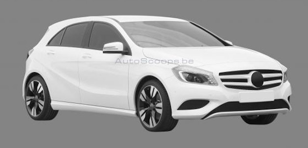 Mercedes-Benz A-Class Patent Drawings
