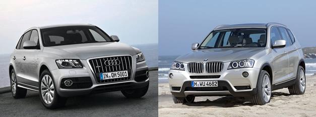 Lets Talk Numbers 2011 BMW X3 vs 2011 Audi Q5  egmCarTech