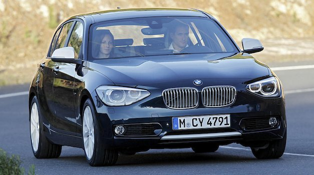 2012 bmw 1 series officially revealed gets all 4 bangers in europe egmcartech. Black Bedroom Furniture Sets. Home Design Ideas