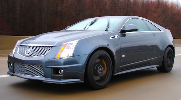 review 2011 cadillac cts v coupe offers powerful bang for. Black Bedroom Furniture Sets. Home Design Ideas