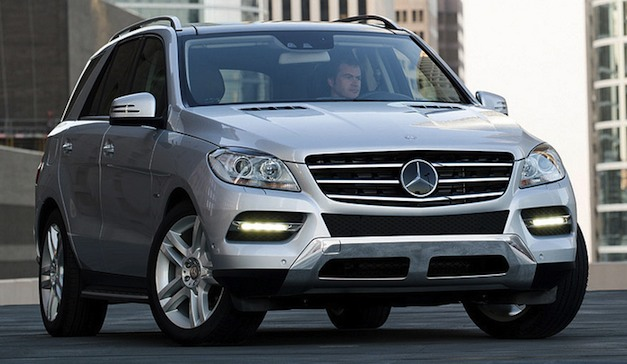 2012 mercedes benz ml350 4matic price starts at 49 865 for Mercedes benz ml350 bluetec price