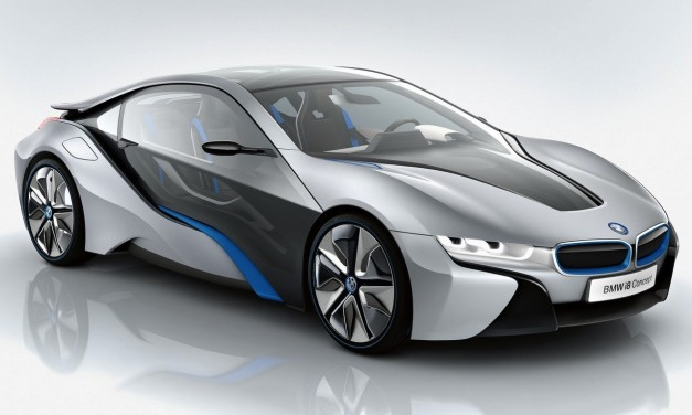 BMW i8 Concept unveiled, scheduled to hit markets in 2014