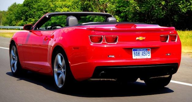 Review: 2011 Chevrolet Camaro Convertible