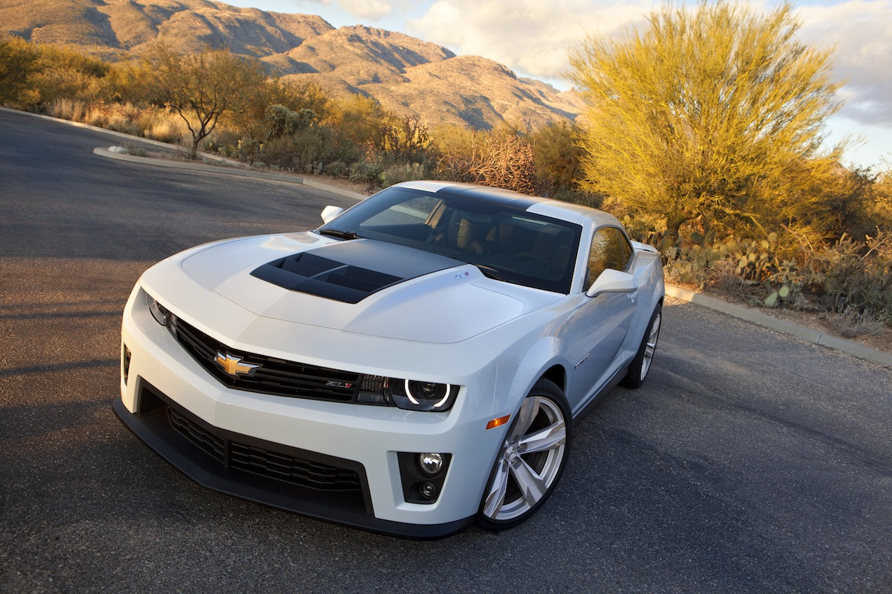 Chevrolet Camaro White Wallpaper