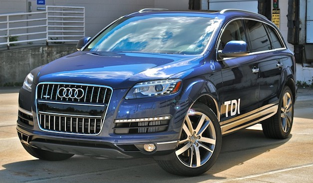Review: 2012 Audi Q7 TDI is a worthy competitor in the diesel luxury full-size SUV segment