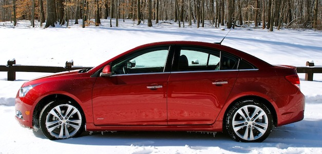 Report: Chevrolet Cruze diesel to debut at Chicago this year