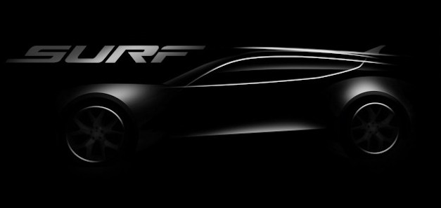 Fisker Surf Concept teased ahead of Frankfurt debut