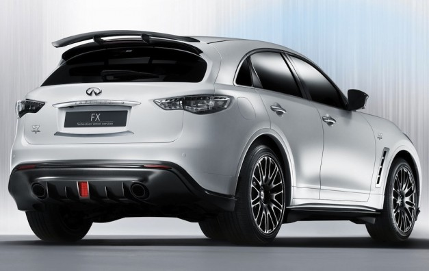 2011 Frankfurt: Infiniti FX Sebastian Vettel Edition makes world debut (w/ Poll)