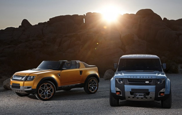 Land Rover DC100 Sport Concept