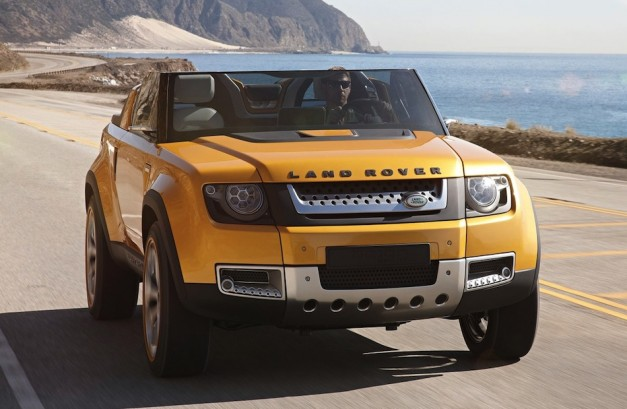 2011 Frankfurt: Land Rover DC100, DC100 Sport Concept hint at future of Defender