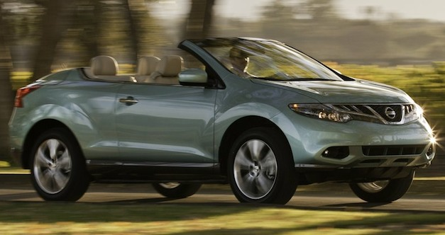 Report: Nissan Murano CrossCabriolet to be axed for good