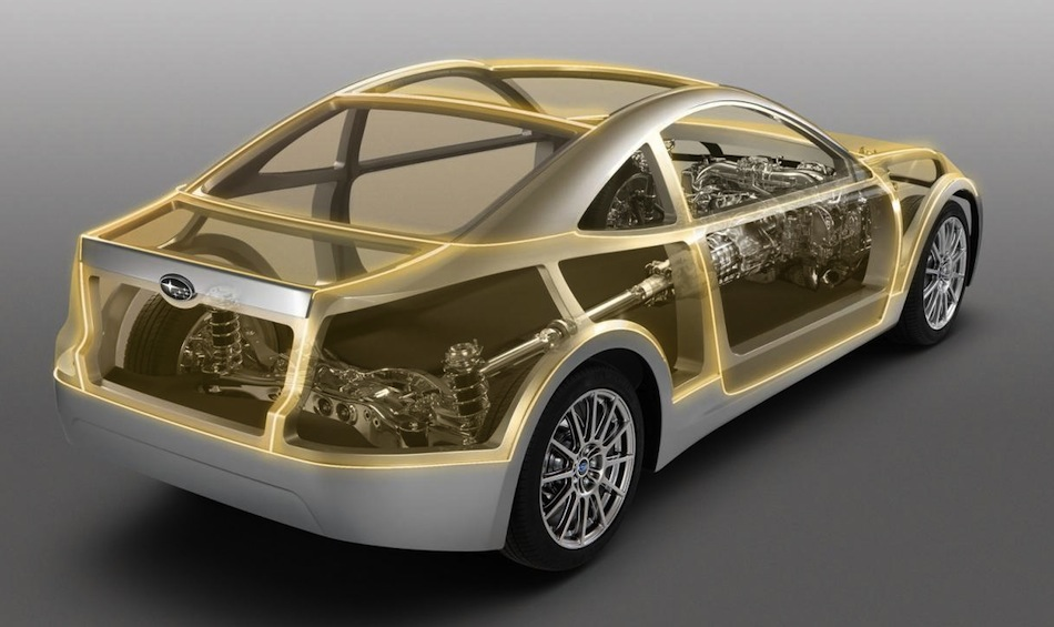 Subaru BRZ Prologue Architecture II