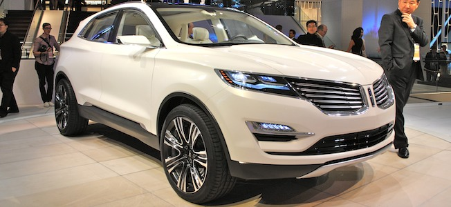 Lincoln MKC Concept Top Story