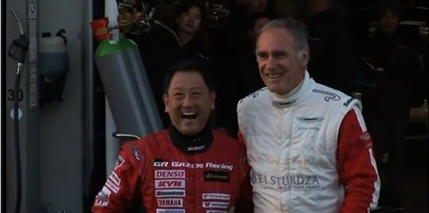 Akio Toyoda and Ulrich Bez