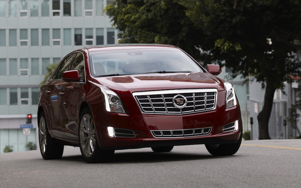 2013 Cadillac XTS Red On the Streets