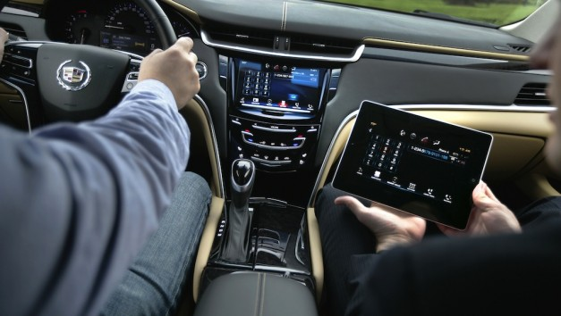 Cadillac CUE iPad App