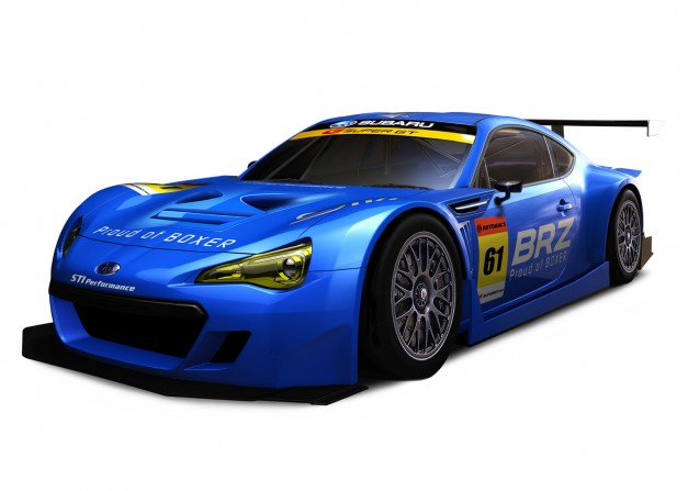 Subaru BRZ to compete in the 2012 Super GT Championship in Japan