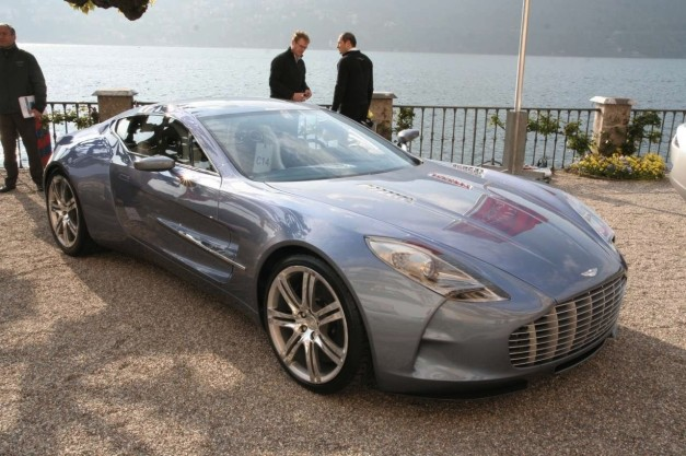 Report: 60 Aston Martin One-77 units sold at $1.87 million