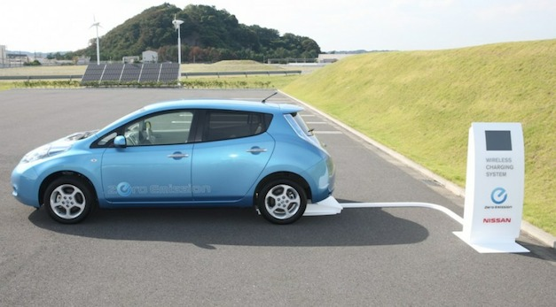 Nissan LEAF Wireless Charger