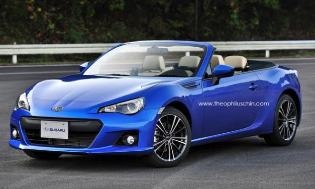 Photo Renderings: Subaru BRZ Convertible could look like this