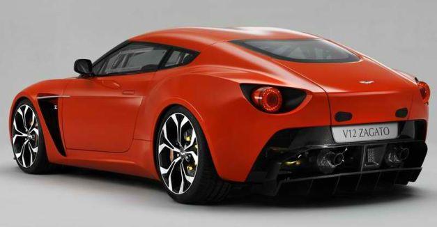 2011 Aston Martin V12 Zagato Concept b