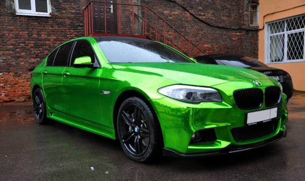 2011 BMW 5-Series in Green Chrome