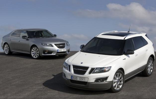 2011 Saab 9-5 and 9-4X