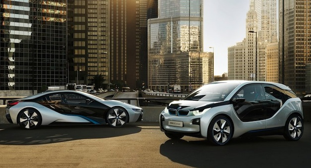 BMW i3 i8 Apple iAd