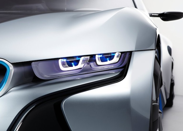 BMW i8 Laser Headlights Left