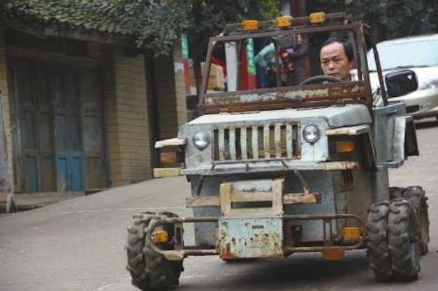 Chinese Homemade Hummer