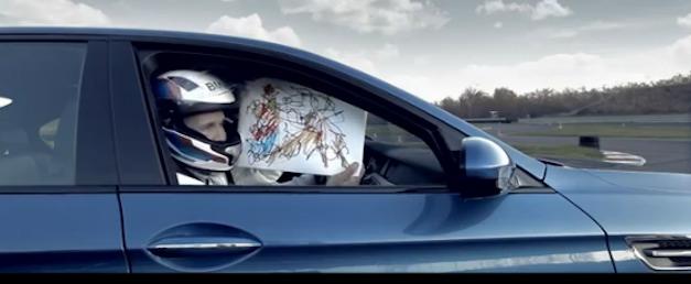 BMW M5 Christmas Card