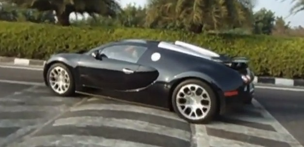 Bugatti Veyron Grand Sport Speed Bump