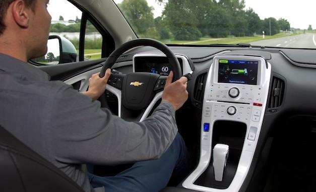 Chevrolet Volt Driving