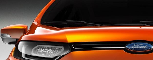 Ford Ecosport Teaser