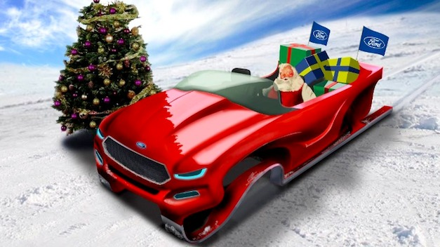Happy Holidays From Egmcartech Ford Introduces A New Evos
