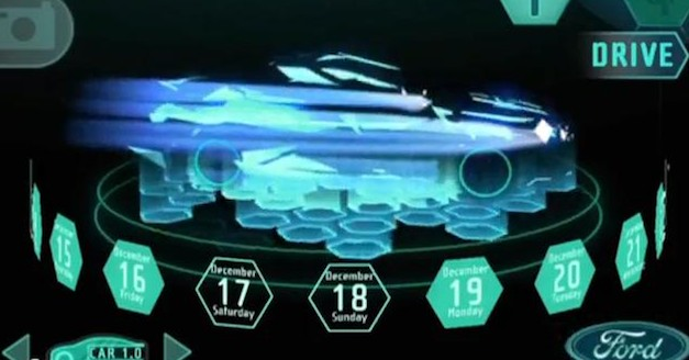 2013 Ford Fusion Teaser