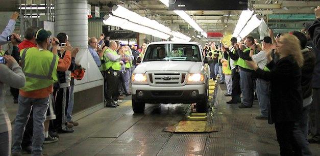 Ford Ranger Production