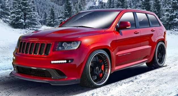 Hennessey Jeep Grand Cherokee SRT8 gets up to 800-hp