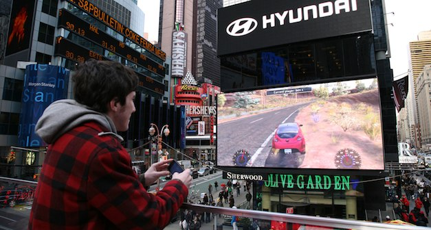 Hyundai Times Square Game