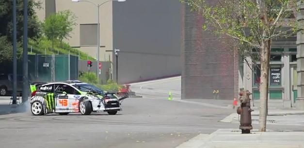 Ken Block HFHV Ford Fiesta LA