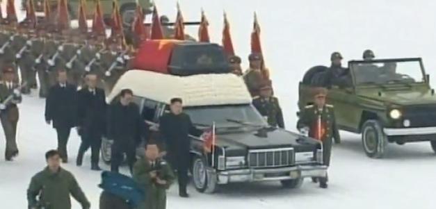 kim jon il funeral