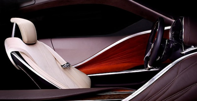 Lexus LF LC Interior Teaser